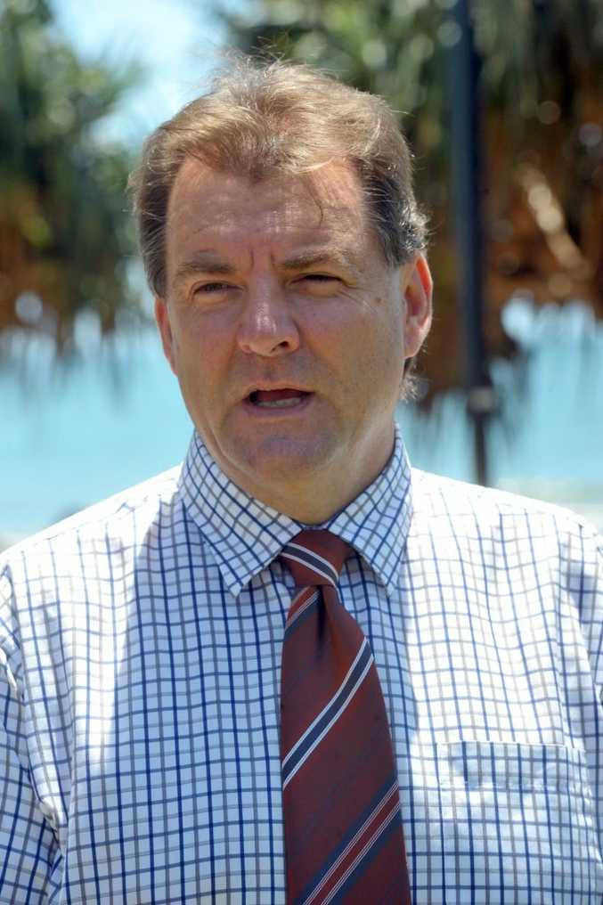 PORT: Member for Burnett Stephen Bennett has welcome the silica sand export.