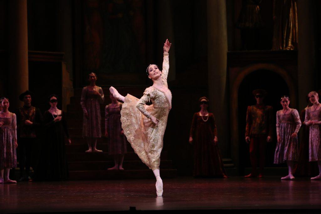 Tamara Rojo performing Kenneth MacMillan's Romeo & Juliet for Queensland Ballet.