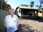 Robert Dick lost everything in a house fire at Mudjimba. Nicola Brander / Sunshine Coast Daily