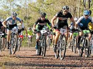 Riders tackle mountain bike track