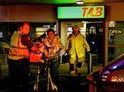 Punters' amazing escape as vehicle crashes through TAB