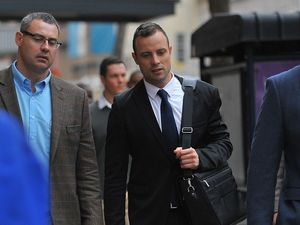 Oscar Pistorius taken to hospital with wrist injuries