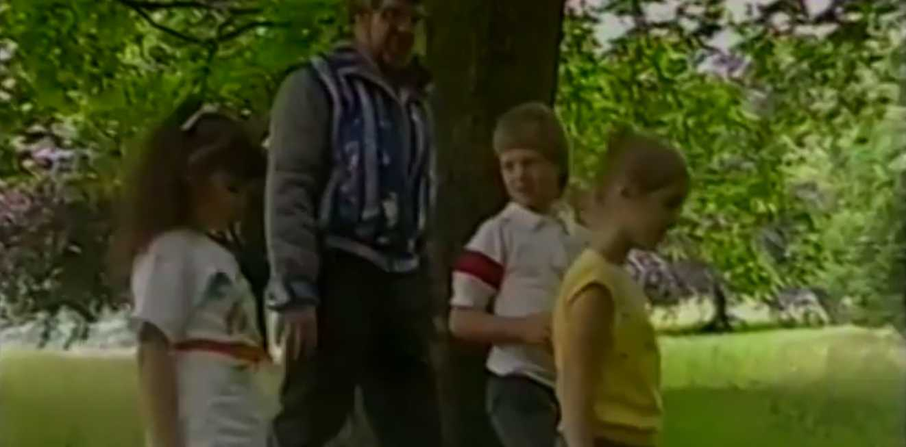 Rolf Harris educated children about 'no touch' almost 30 years before he was convicted of indecent assault.