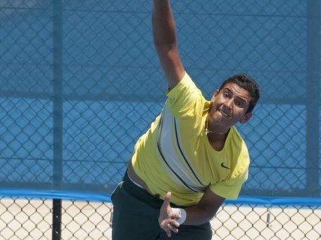 Nick Kyrgios. Toowoomba International Tennis . Photo Nev Madsen / The Chronicle