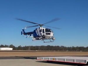 Polair chopper used to track man on Gold Coast