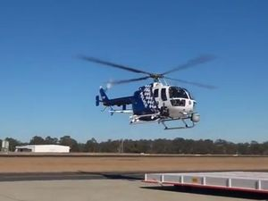 Police chopper tracks offender