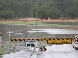 Smashed by more than 100mm of rain: Rivers on flood watch