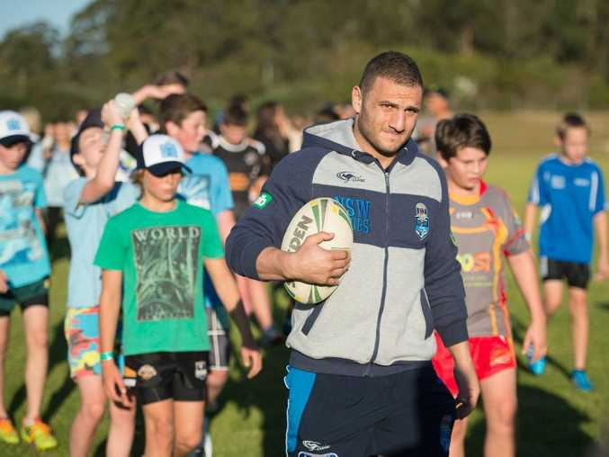 School visits by the NSW Blues during their upcoming pre-Origing training camps in Coffs Harbour have been organised for Toormina Public School, Toormina High School, Woolgoolga Public School and Orara High School.