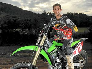 Teenage dirt bike champ finds sliding to his liking