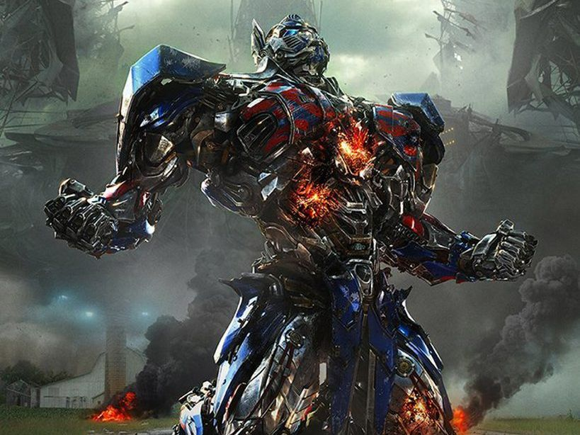 TRANSFORMERS: Optimus Prime in a scene from the movie Transformers: Age of Extinction. Supplied by Paramount Pictures Australia. Photo contributed / Whitsunday Times