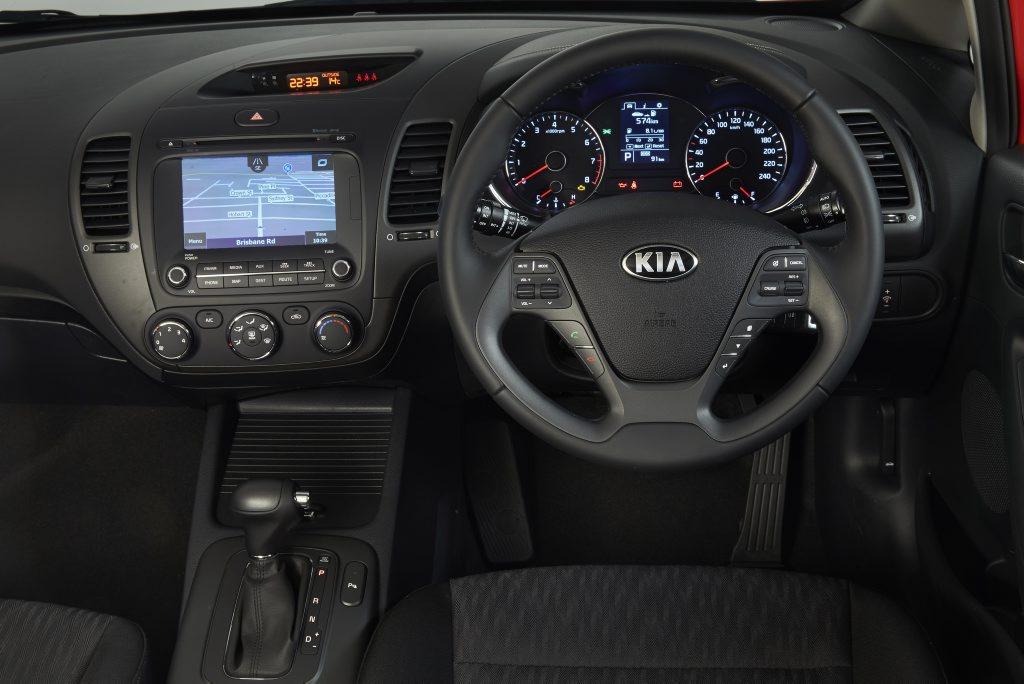 2014 Kia Cerato S Premium interior.
