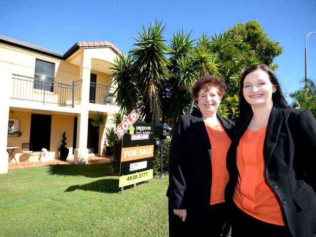Yeppoon Real Estate's Esme and Claudia Coren. Photo Allan Reinikka / The Morning Bulletin
