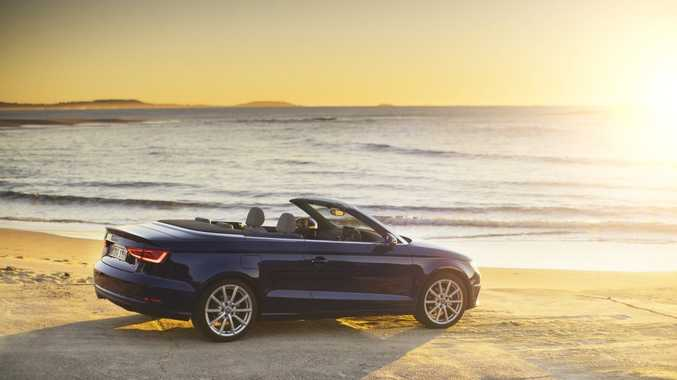 The new Audi A3 Cabriolet.