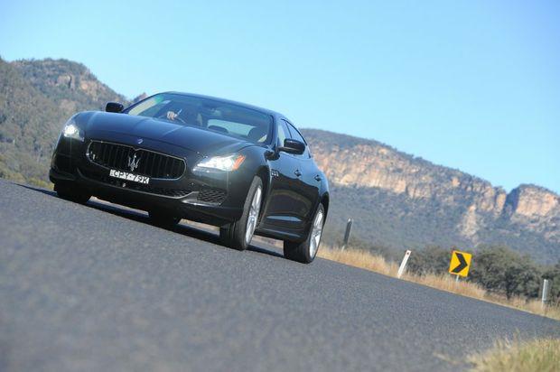 The new Maserati Quattroporte Diesel.