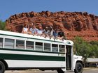 The team on the bus in Utah. Photo Contributed