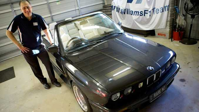 Mario Lamont's rare BMW M3 convertible will be on show at RACQ MotorFest on July 13.