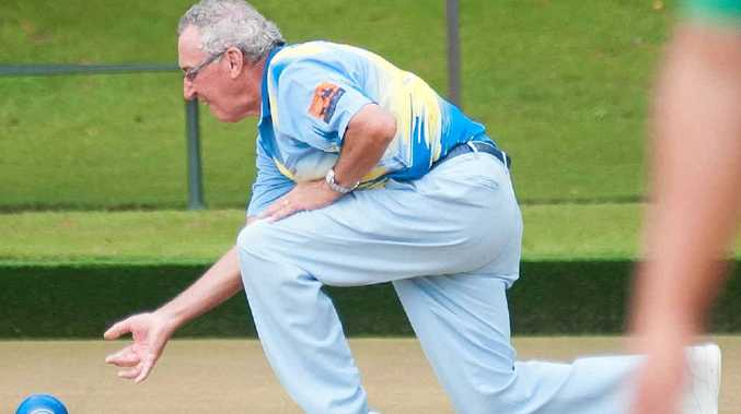 EVERY CHANCE: Park Beach bowler Jim Swan is back chasing the big money on Monday in his home club's Open Singles. He made the quarter-finals a few years ago. Photo: Rob Wright