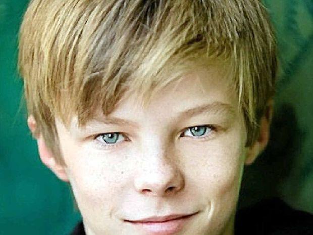 ACTION MAN: Alstonville teenager Nicholas Hamilton, 14, has been cast in the film Captain Fantastic.