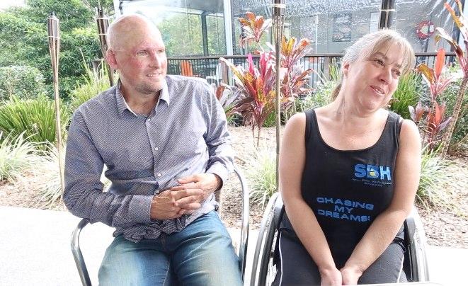 Nambour woman Tania Sherley meets Matt Golinksi.