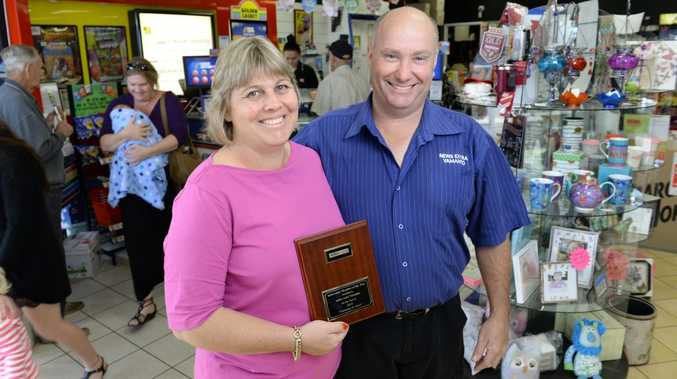 WINNERS: News extra Yamanto owners Robyn and Bruce Nowland have won the news extra 2014 Member of the Year.