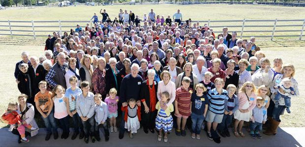 HISTORIC EVENT: The Maddens turned out in droves to the Rosewood Cultural Centre to celebrate 150 years since the family arrived in Queensland from Ireland.