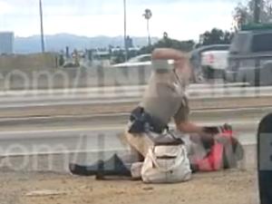 California 'police brutality'