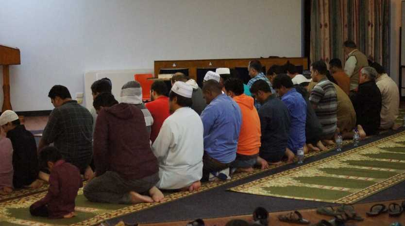 The breaking of the fast and nightly prayers with families from the Islamic Society of Gladstone.