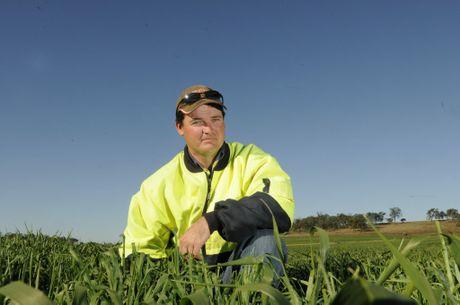 Pittsworth daily farmer Ashley Mengel.