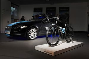 Jaguar has been working closely with Pinarello.