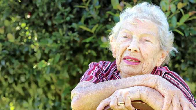 LIVING LEGEND: Ruth Frost, 90, is optimistic about life after heart surgery. BELOW: How the Daily reported her story in June 2010.