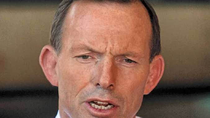DUPED: Prime Minister Tony Abbott promised Australians would be $550 better off each year.