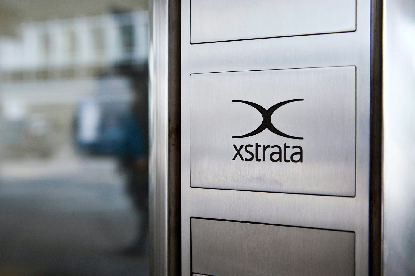 A file photo dated 31 March 2010 showing the headquarters of Xtrata in Zug, Switzerland.