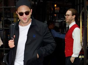 Robert Pattinson gets his flirt on for the 4th of July