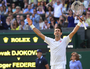 Djokovic takes out Federer in Wimbledon win