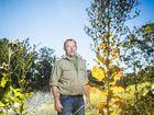 SECRET VENTURE: Mark Smith in his garden at Mororo.