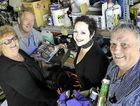 TIDY UP: Members of the Gladstone Rotary Club Inc Wade Hughes, Julie Robinson, Julianne Silver and Bevan Rose are cleaning out their garages for the swap meet.