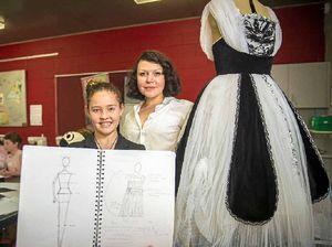 Creative Calliope teen designs her future in fashion