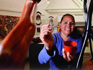 Art honours Indigenous cultures at Noosa Junction pop up store