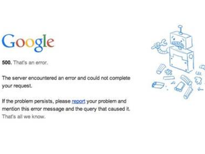 Google briefly drops off the web without explanation