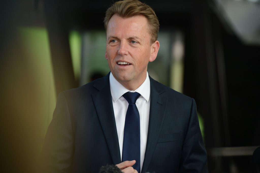 Transport Minister Scott Emerson