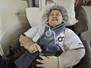 Cynthia accepts elder honour amid cancer battle