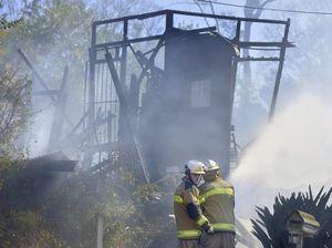 Family left homeless by blaze