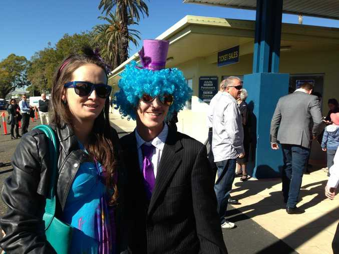 Racegoers are already flocking to Clarence River Jockey Club for Ramornie Day. Photo Debrah Novak