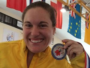 Mum's strength: Deb lifts dedication for fourth Games