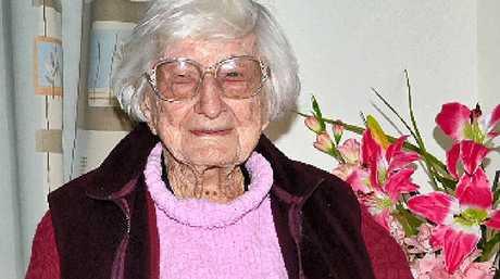 BIRTHDAY GIRL: Cath Moore, of Coraki, has clocked up 107 years.