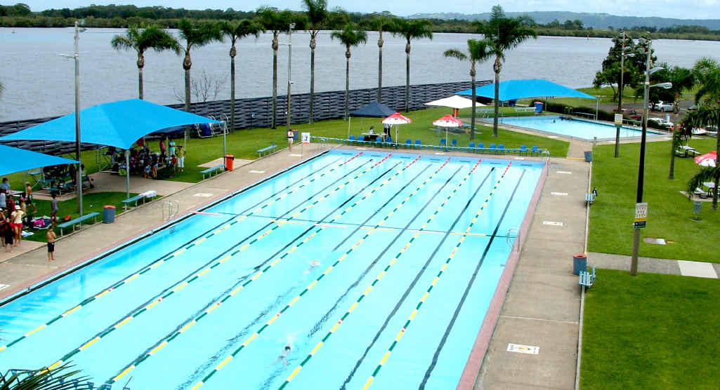 DIVE IN: The Ballina pool could soon be upgraded courtesy of a rates increase.
