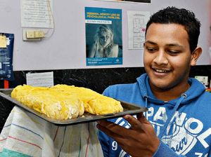 Youth 'game' to try meals
