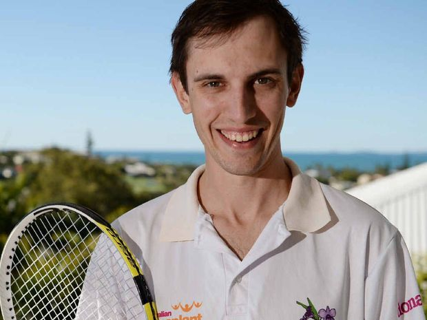 PRIDE: Steve Griffin is gearing up to hit the court representing the state at the Australian Transplant Games in Melbourne in September.