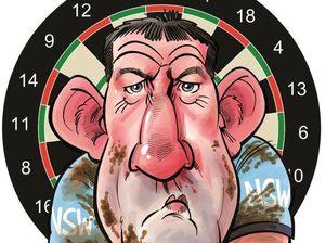 Paul Gallen dartboard poster in your GT today