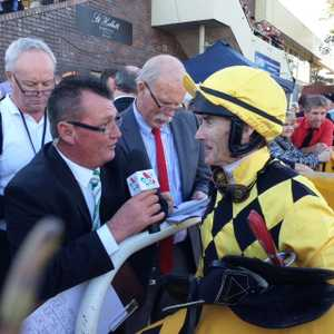 Jockey Robert Thompson discusses the Ramornie Handicap win on board Big Money with Sky Racing's Gary Kliese.